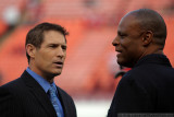 Steve Young & Warren Moon - Pro Football HOFers