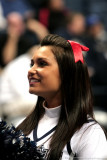 UCONN Huskies cheerleader