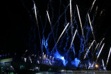 Super Bowl XLIV - The Who rehearsal fireworks