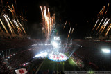 Super Bowl XLIV  halftime fireworks - The Who