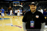 Me at the 1st Round of the 2010 NCAA Tournament in New Orleans
