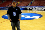 Me at the 1st Round of the 2009 NCAA Tournament in Philadelphia