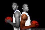 Kentucky Wildcats' John Wall and Eric Bledsoe
