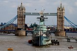Tower Bridge and HMS Belfast