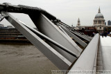 St. Paul's Catherdral and London Millennium Footbridge