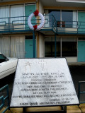Lorraine Motel in Memphis - place where Martin Luther King, Jr. was assassinated  (04/04/1968)