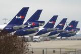 FedEx planes at Memphis Airport