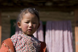 Child in the Himalayas