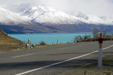 Lake Pukaki Roads