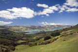 Akaroa on Banks Peninsula, Canterbury