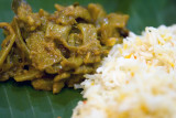 Lovely food at Banana Leaf Apolo