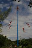 May pole at Tulum