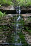 trickling water