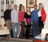 All of us & Hayley together to ring in new year 2009-2010