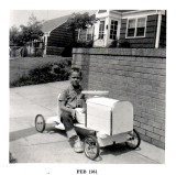 Mike and soapbox racer