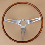 Corvette Original Teak Steering Wheel