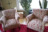 two poppy chairs!!