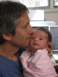 Papa and His Little Bundle 2.JPG