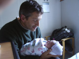 Papa and Ruby in Morning Light.JPG