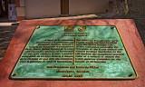 UNESCO World Heritage Site plaque