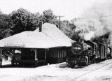 Arnolds Park Depot.
