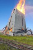 Spirit Lake Elevator Burn