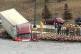 Spirit Lake April 19, 2008