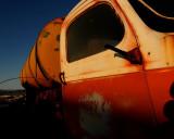 Truck near Amboy