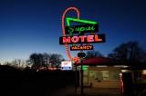 Supai Motel at Dusk