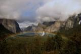 Rainbow Over Yosemite Valley