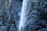 Bridalveil Fall After a Late Spring Snowfall