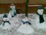 2010 Snowman Family