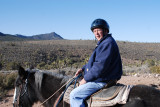 Mike on his horse