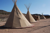 Teepees at the ranch
