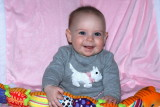 Addison Grace at 6 months old