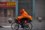 A rainy day in Shanghai