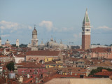 View from the ship across Venice