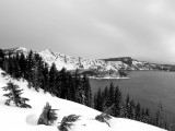17. Crater Lake in January