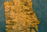 Map of Northern England, Palazzo Vecchio, Florence