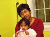 Antoo and Mummy