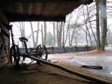View from another barn