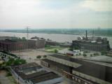 Bleak view of Mississippi from the Hotel Window