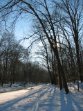 Feb 14th -Trail cannot be walked at Carderock - need cross country skis!