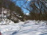 Virgin Snow at Pennyfield Lock