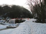 Feb 28th  - Scene at Pennyfield lock