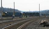 At the railroad yard