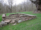 Remains of lockhouse for Lock 26