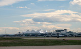 On the ground at Denver International Airport