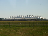 The peaks of Denver airport