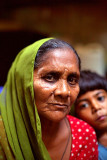 Woman and boy - Delhi